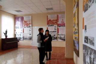 Eröffnung der Ausstellung in Comrat